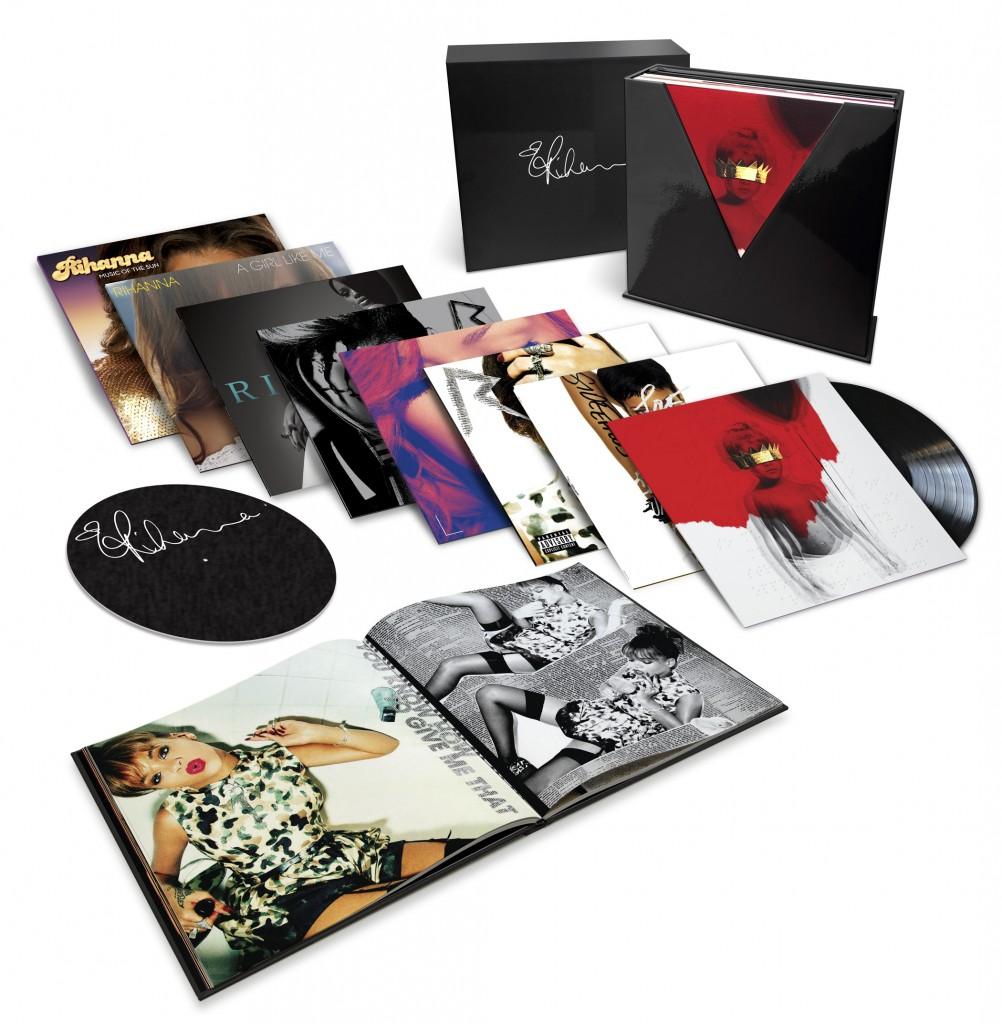 Preorder Vinyl Box Set Rihanna