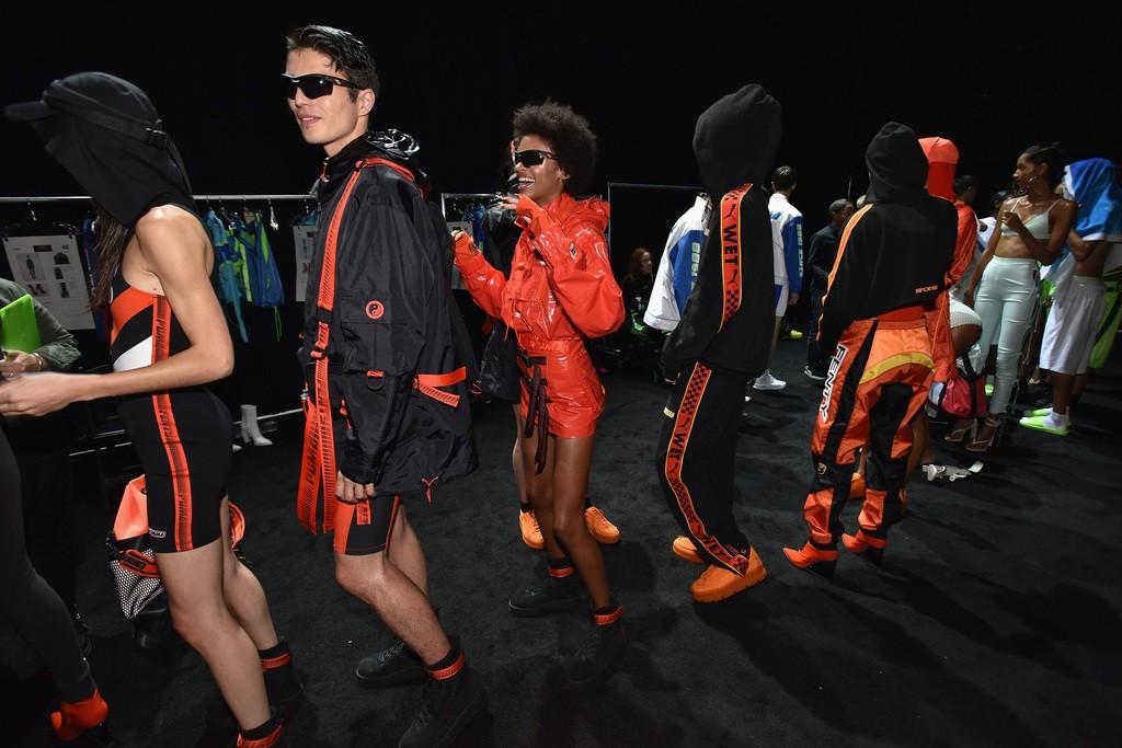 reputable site be793 7cab1 Fenty x PUMA SS18 Fashion Show Recap! - Rihanna